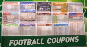 football bookies betting coupons
