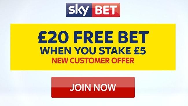 create sky bet account