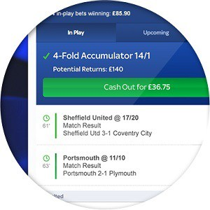 sky bet cash out - how to take your profits early