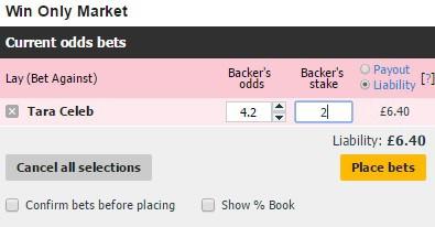 betfair lay bet choose stake