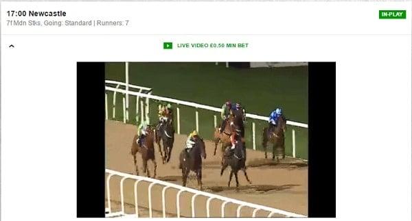 example live video Betfair