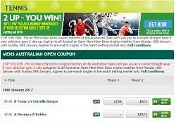 best online tennis bookies