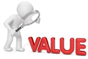 how to find value