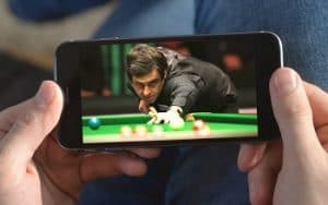 watch live snooker on your mobile