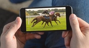 watch live horse racing free on your mobile phone