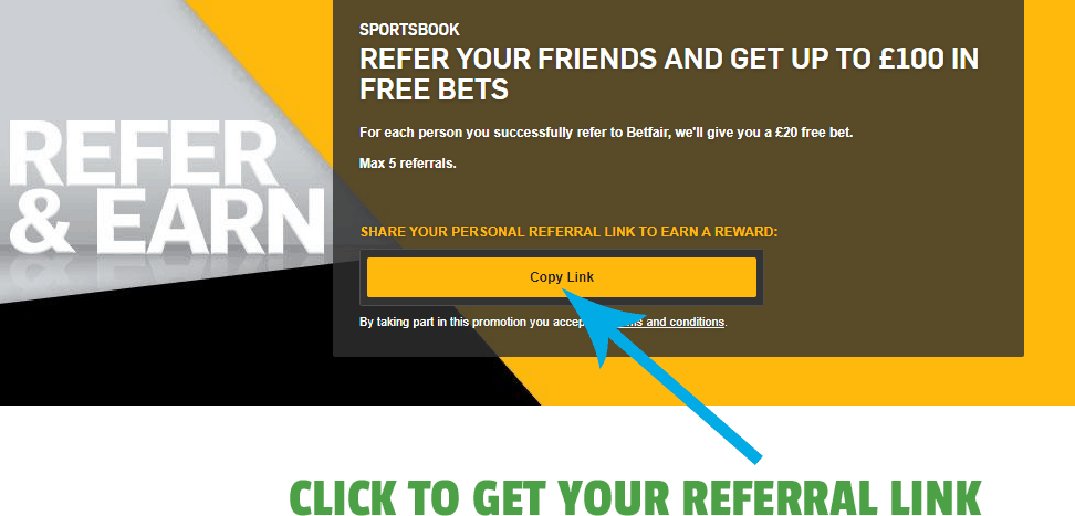 betfair referral link