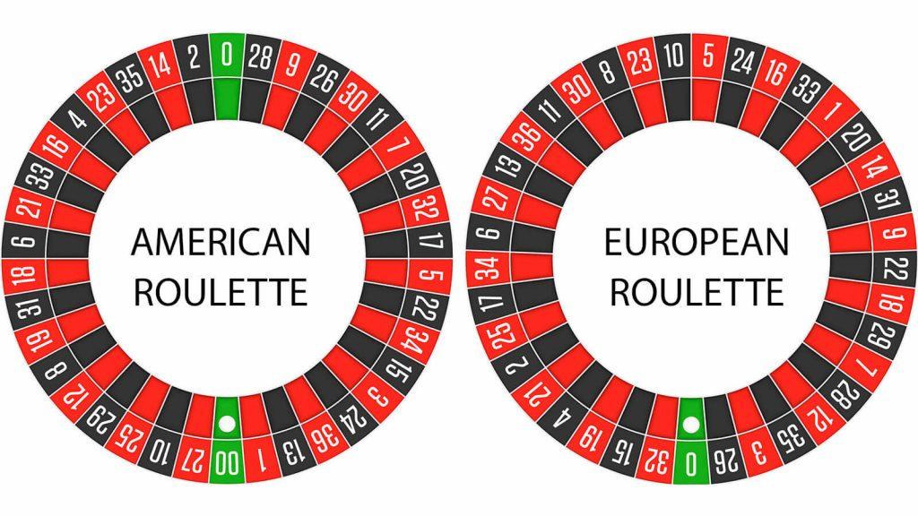 european roulette v american roulette