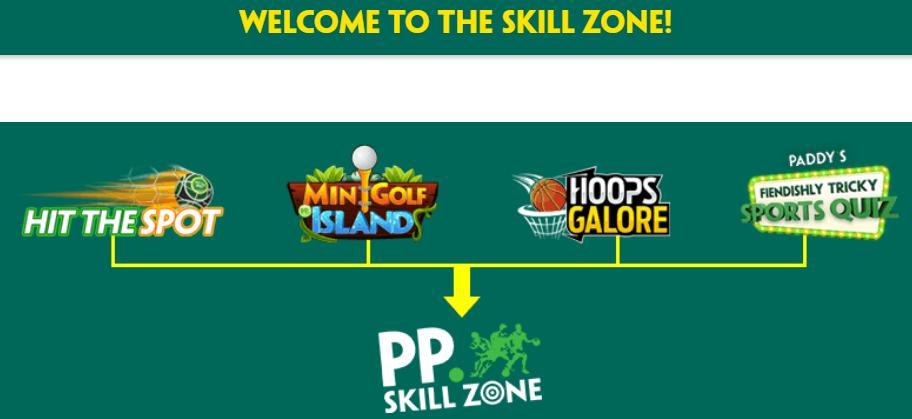 paddy power skill zone