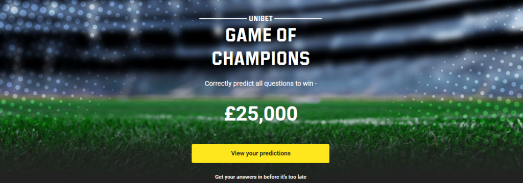 unibet game of champions