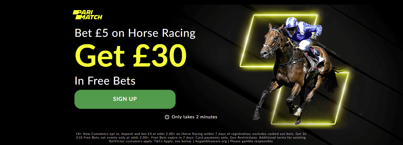 parimatch racing sign up offer
